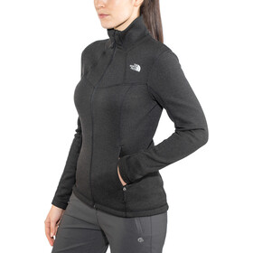 The North Face Inlux Wool Full Zip Jacket Dame tnf black